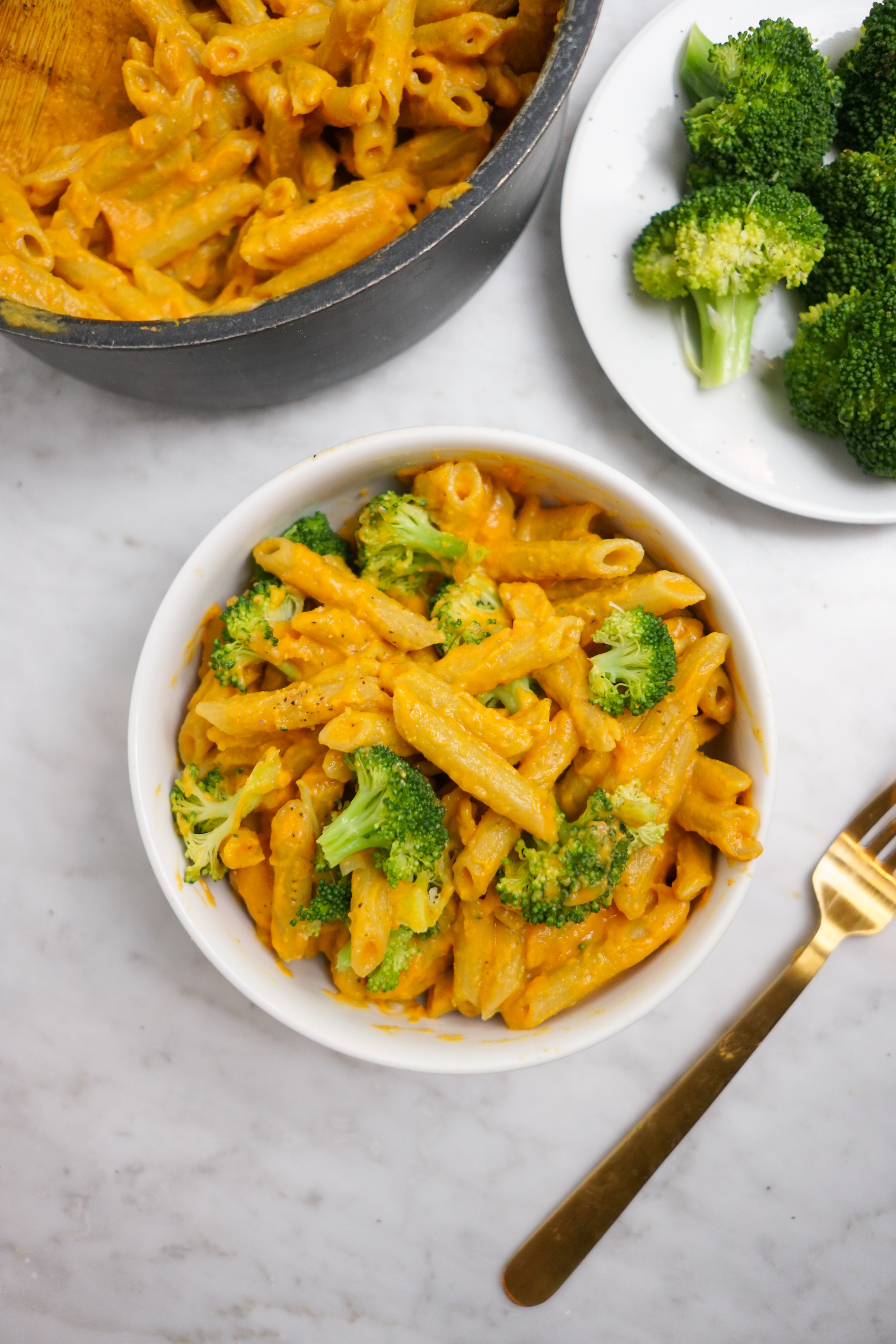 sweet potato vegan mac n cheese