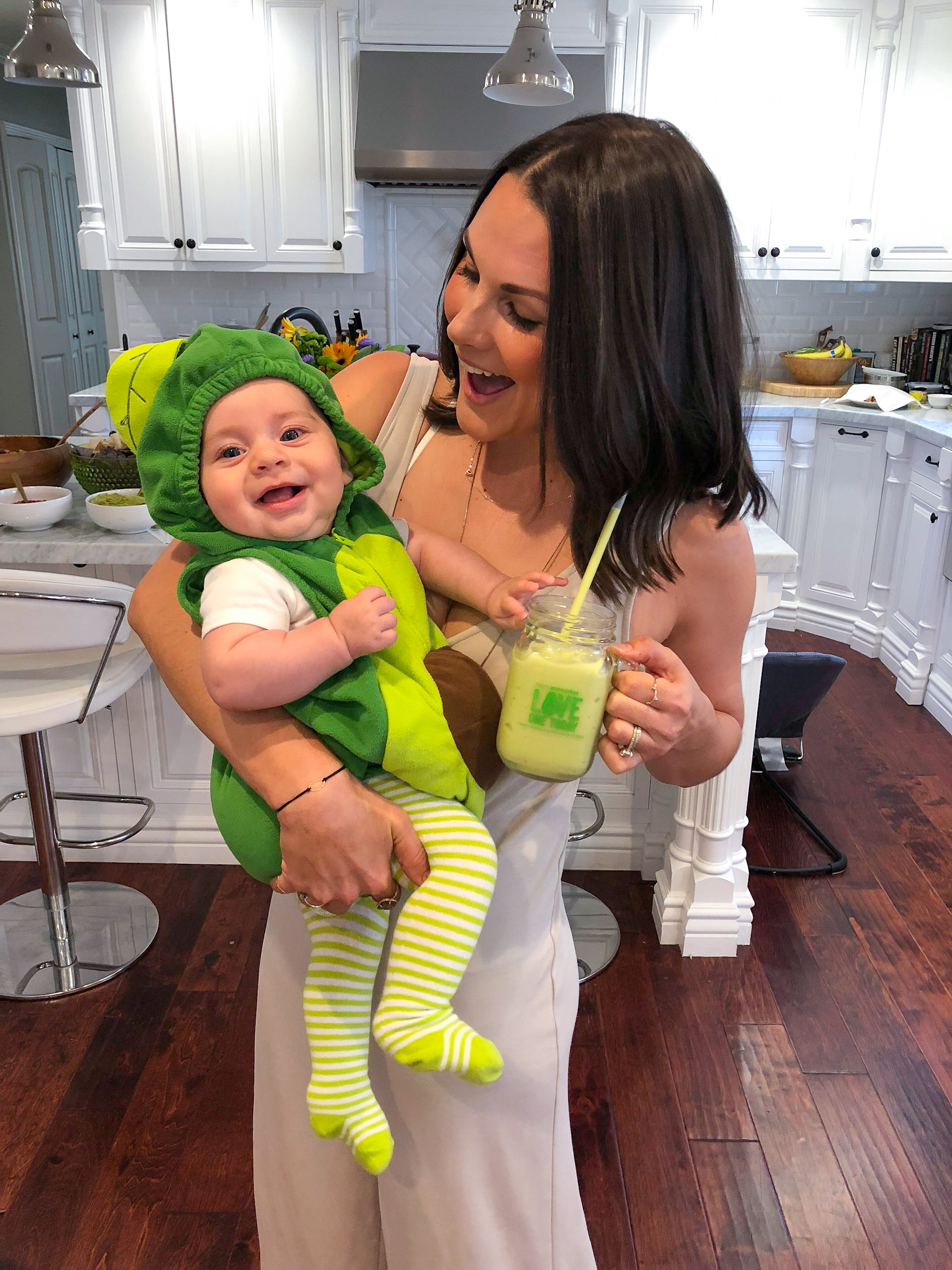 Baby Avocado Costume