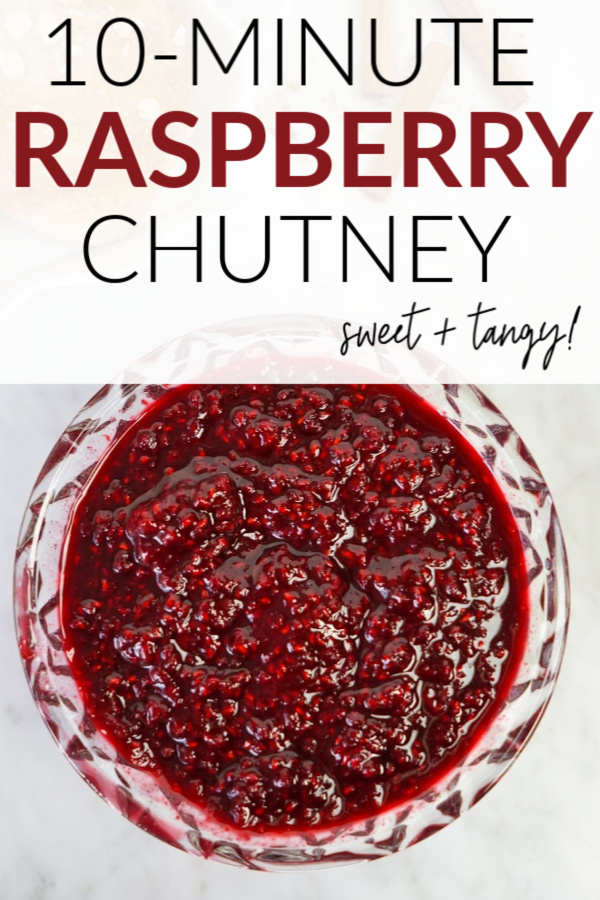 raspberry chutney pin