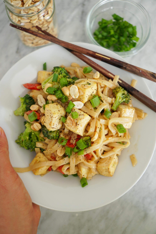 thai peanut tofu recipe plus tofu cooking tips