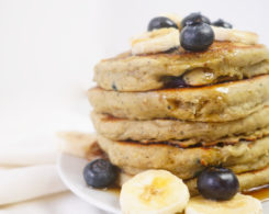 Best Vegan Blueberry Yogurt Pancakes Recipe