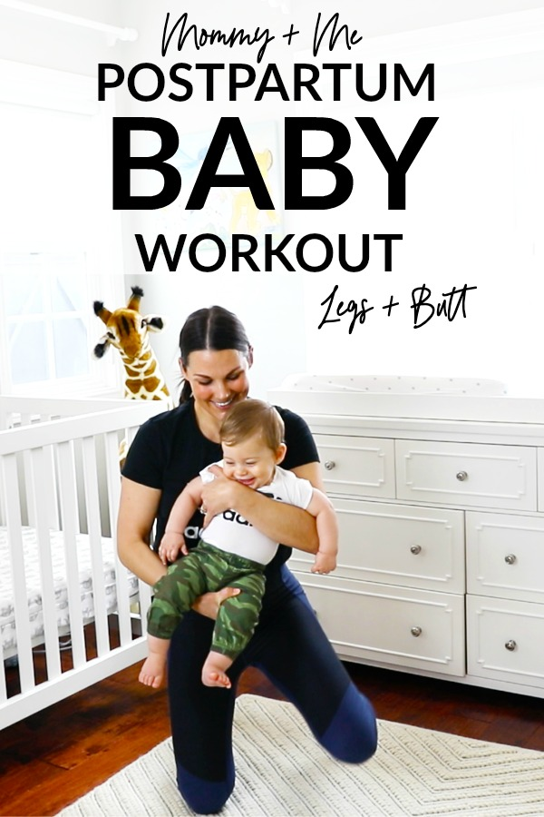 Mommy and Me Baby Workout - Legs and Butt