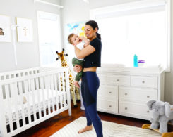 mommy baby postpartum workout