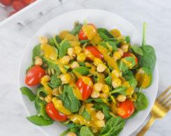 turmeric tahini salad dressing