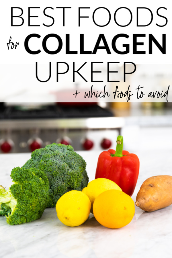 Producing foods collagen natural