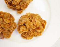 pumpkin cornflake clusters