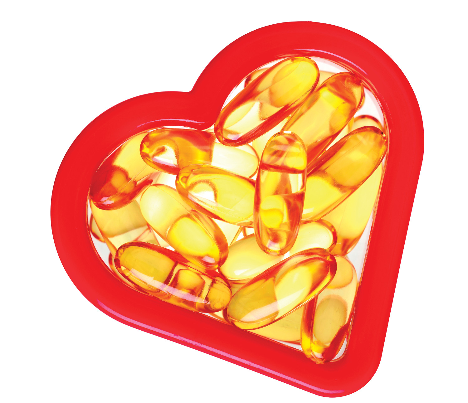 heart and omega-3 supplements
