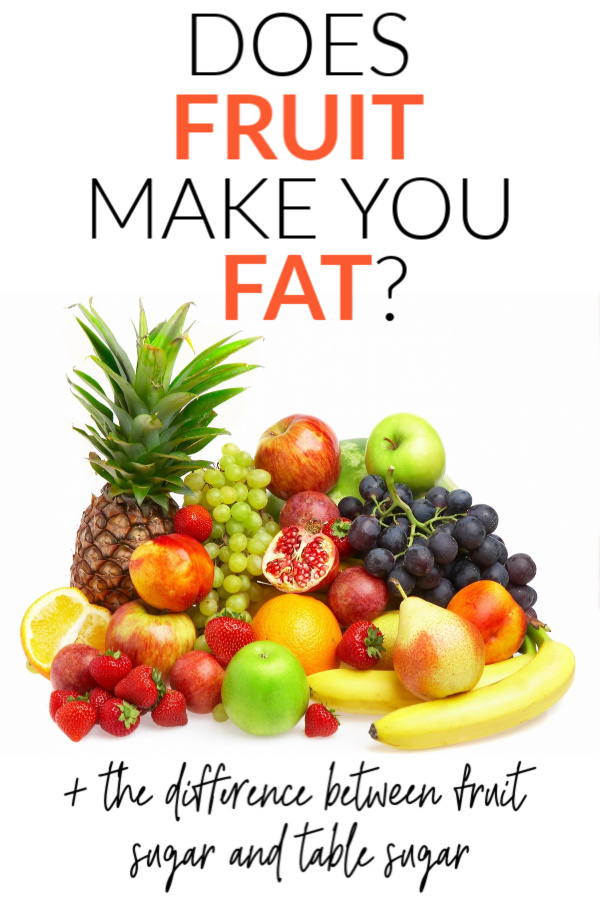 fruit not fat pin