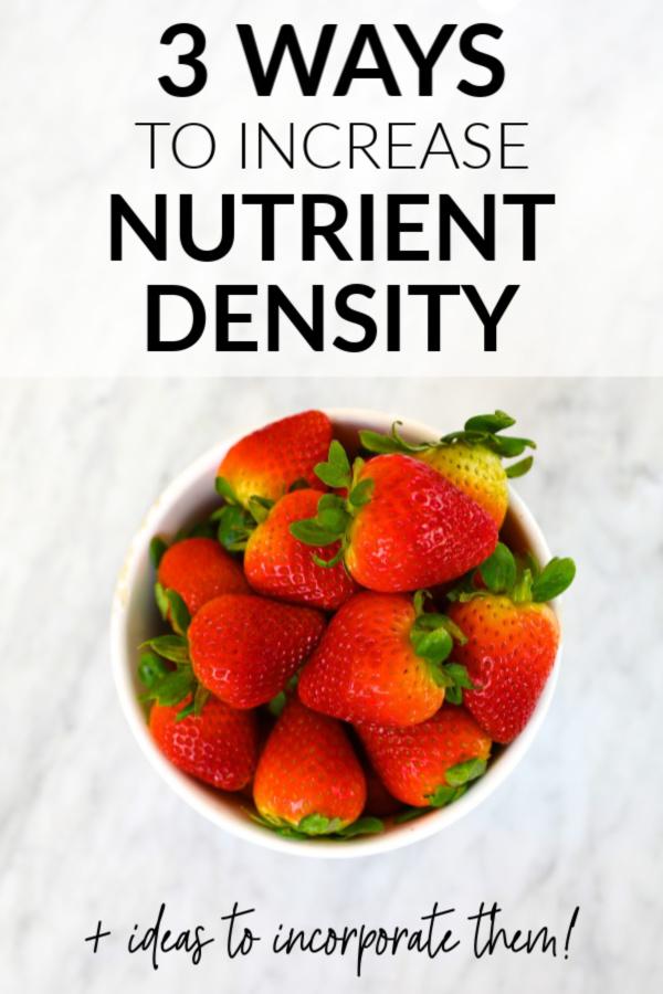 nutrient density pin
