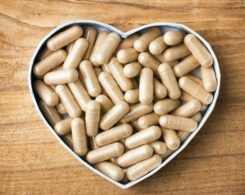 placenta pills heart