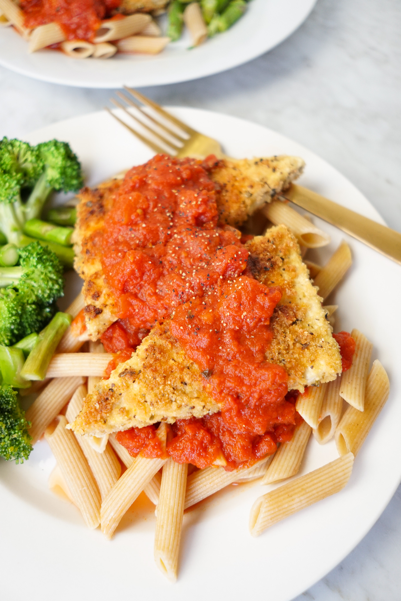 vegan chicken parmesan