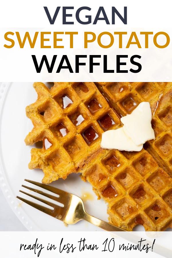 sweet potato waffles pin