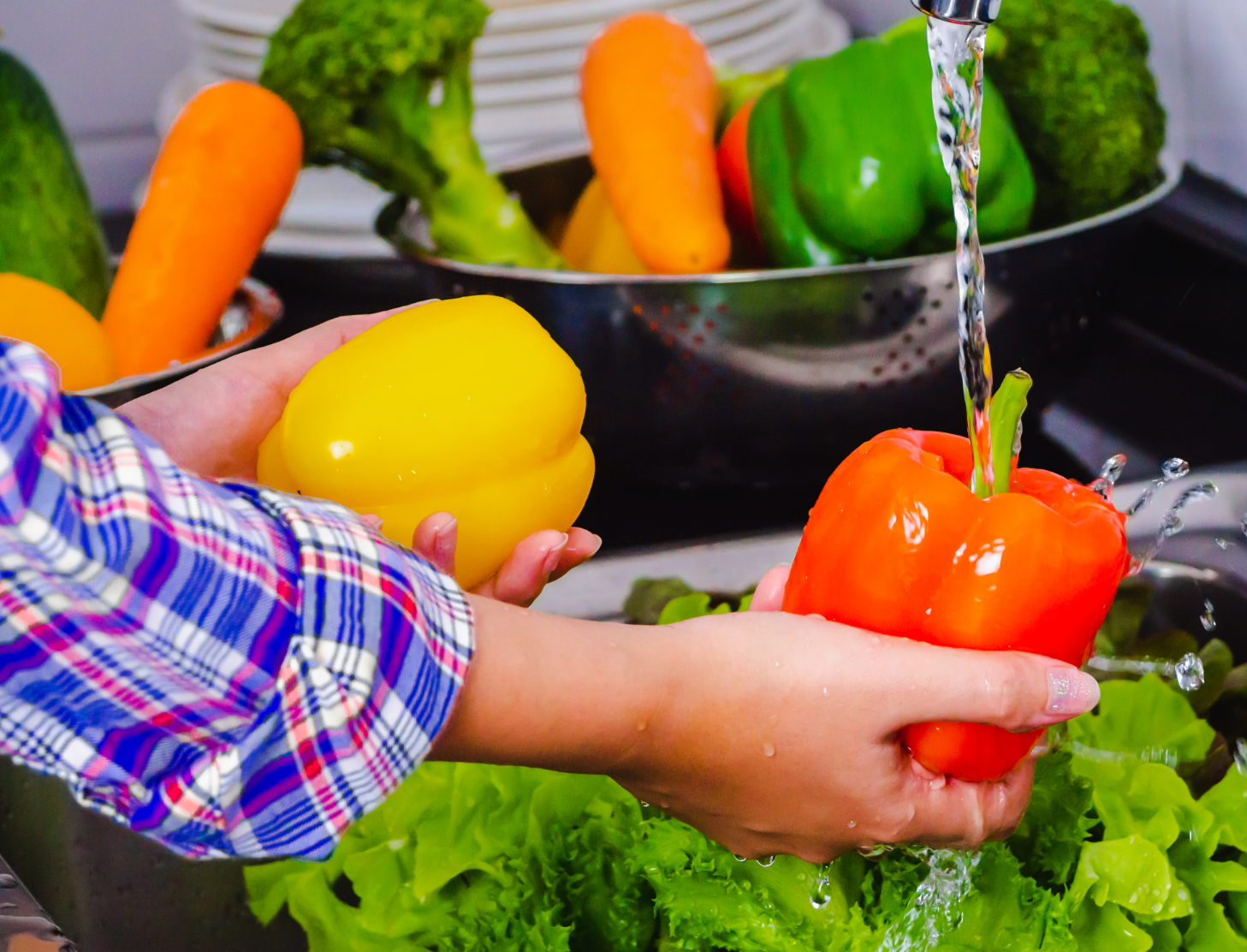 how to wash and prep fresh produce-3